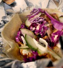 Korean Fusion Taco by Good Karma Kitchen!