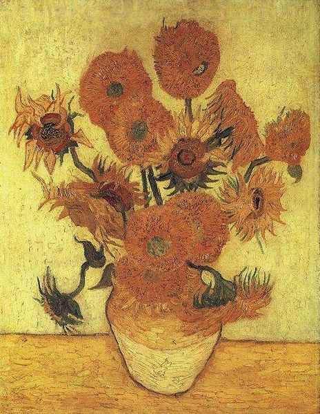 464px-Van_Gogh_Vase_with_Fifteen_Sunflowers