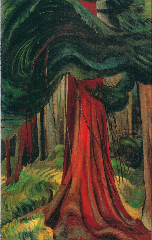 Emily Carr Forest Landscape paintings