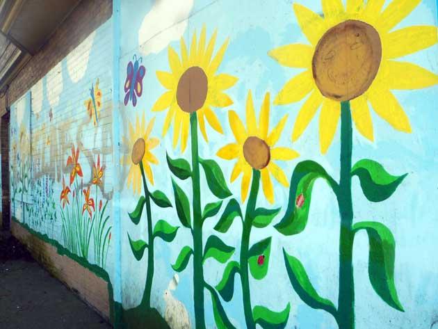street plant art