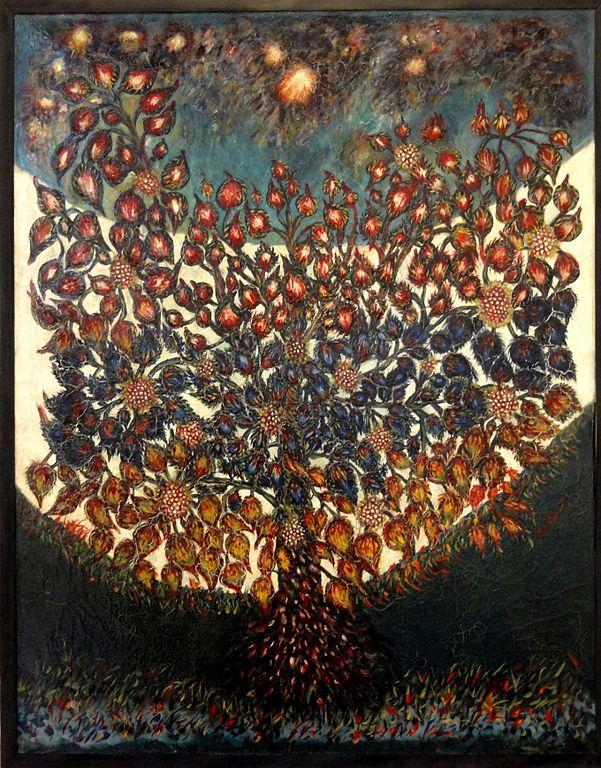 601px-Senlis_(60),_musée_d'art_et_d'archéologie,_Séraphine_Louis,_L'arbre_de_vie_(1928)