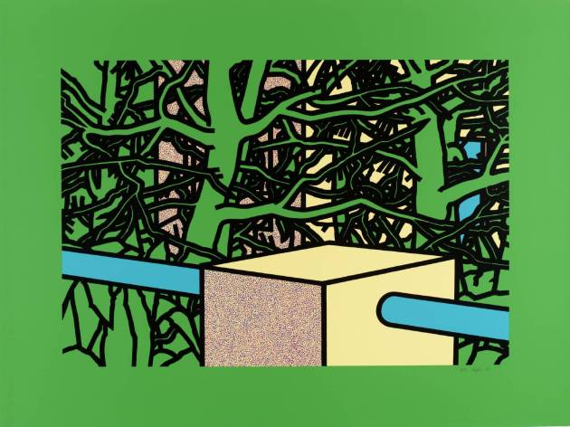 Patrick Caulfield flowers and plants