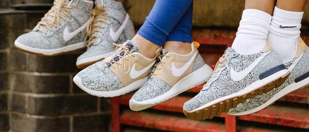 Nike liberty collaborations