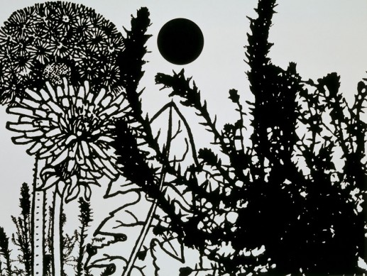 monochromatic botanical landscapes