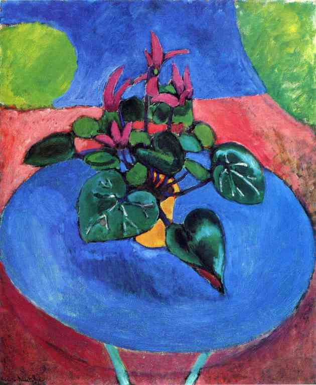 Cyclamen by Matisse
