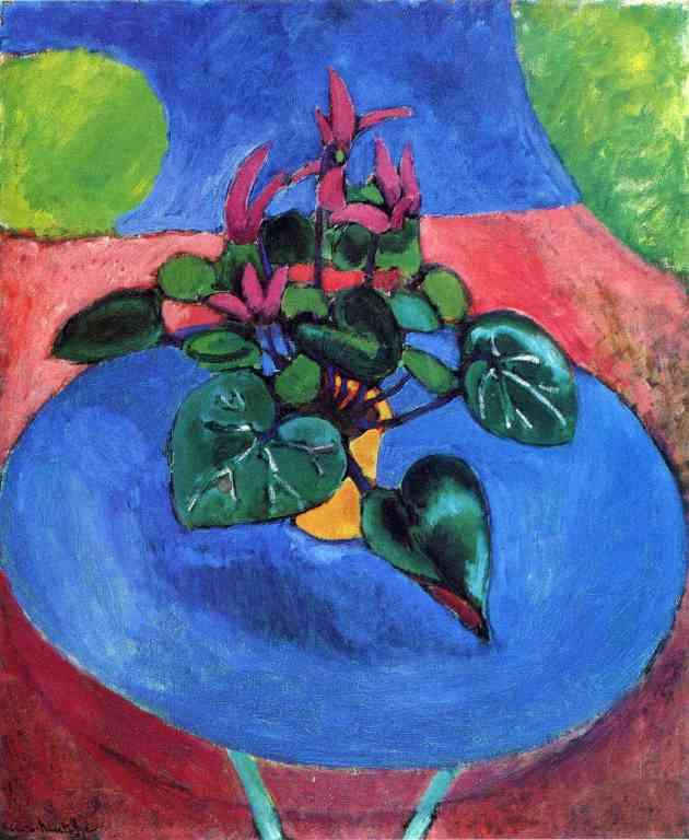 Cyclamen by Matisse