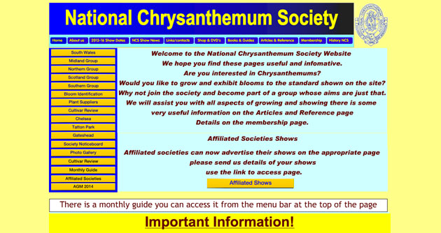 Chrysanthemum society