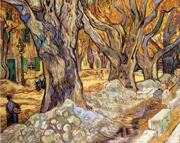 Van Gogh Large Plane tree