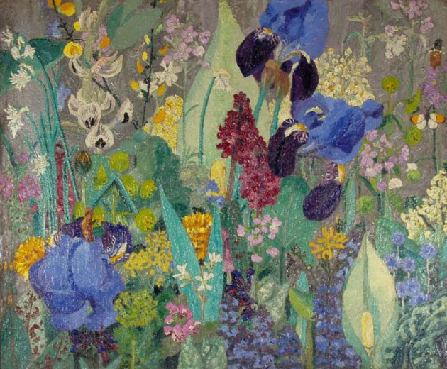 Cedric Morris painted plants