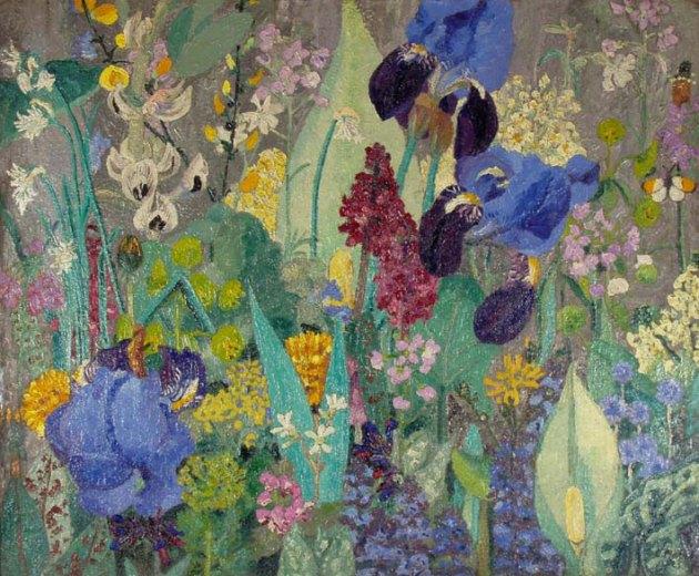 Cedric Morris painted plants