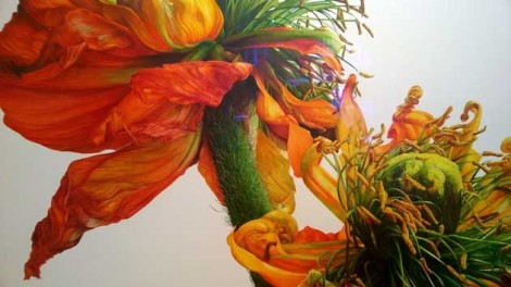 Botanical art show in Chelsea