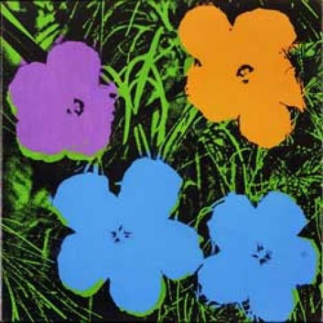 Andy Warhol's Flower series