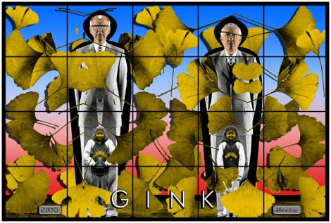 Ginkgo consciousness with Gilbert and George