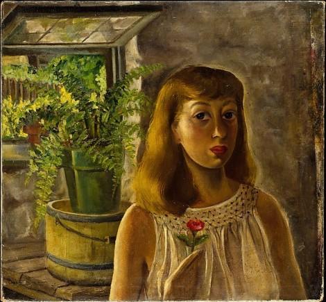 Self-portraits with plants