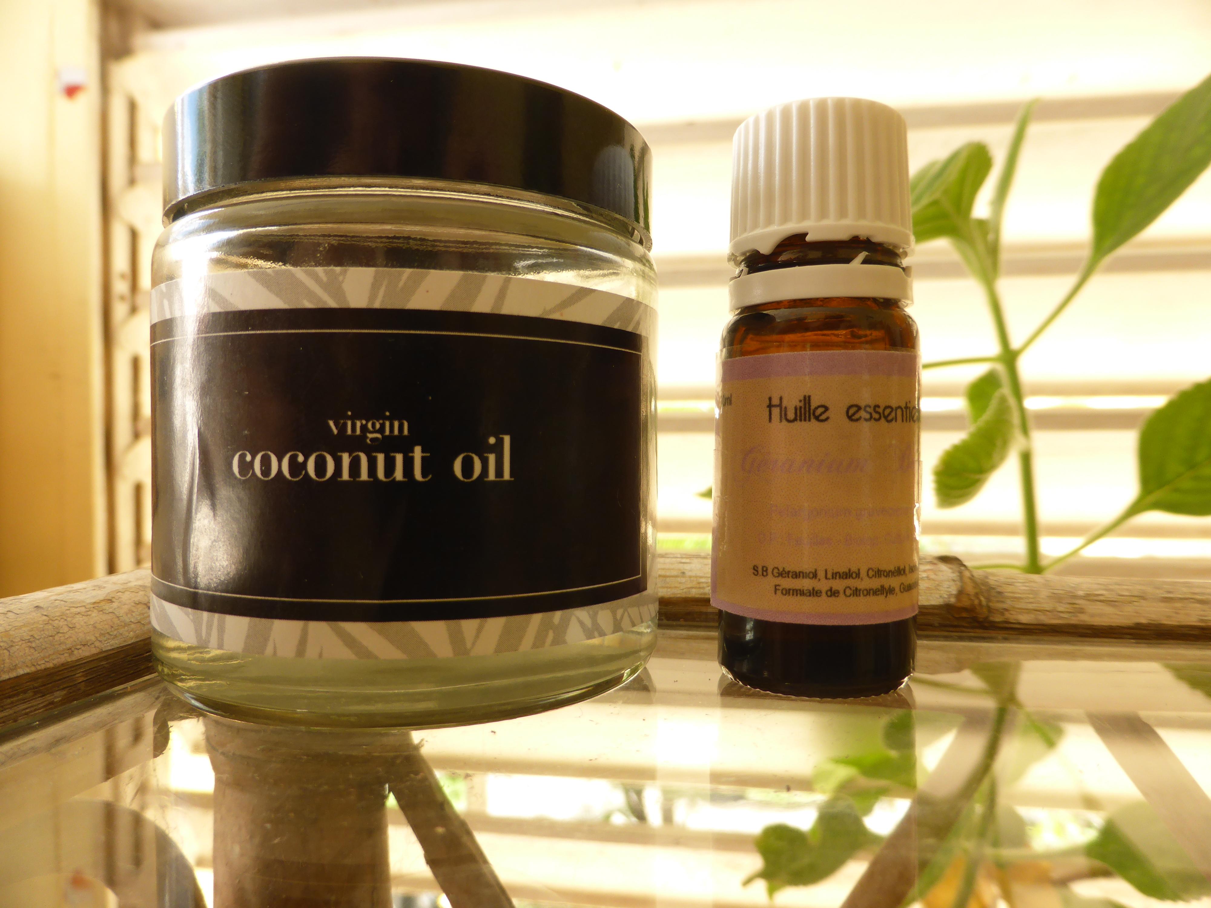 Comment utiliser l'huile essentielle de Géranium Bourbon ?