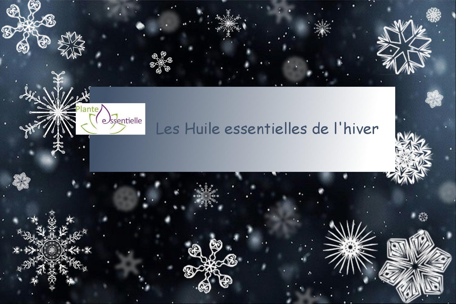 Les huiles essentielles de l'hiver (webinar)