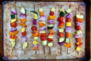 Read more about the article Grilled Vegetable Kebab