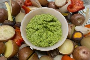Read more about the article Arugula Pesto – The Happy Food Chef Robin Joy