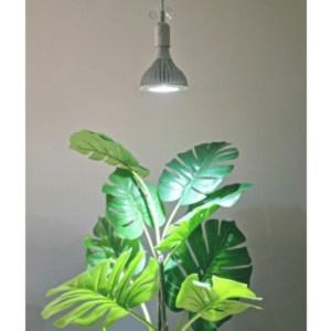 120W Vækstlys pærer m fatning og hvid ledning