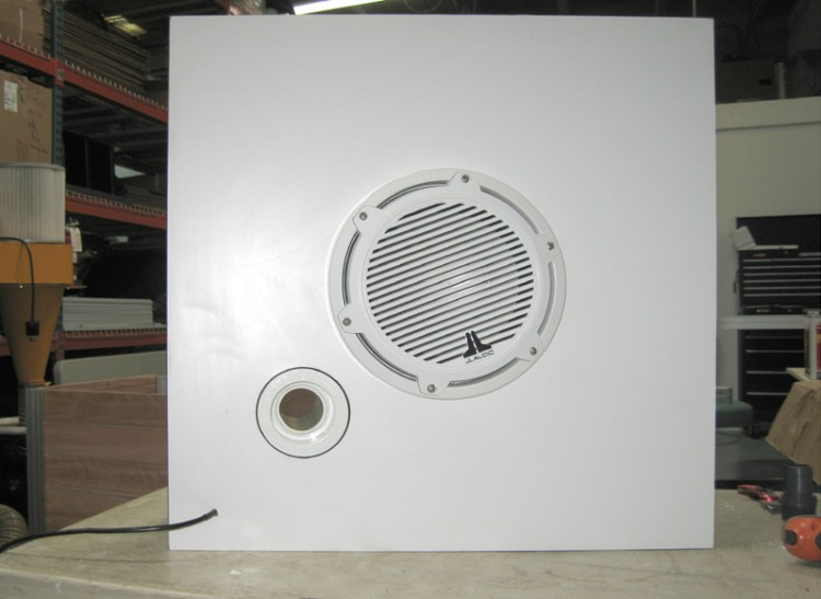custom outdoor speaker enclosure