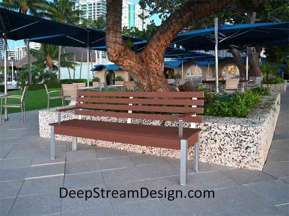 Tap for a link to more Benches on DeepStream website
