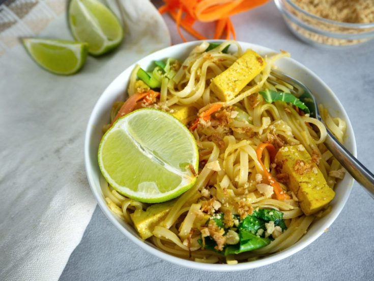 reisnudeln mit pad thai