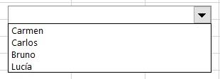 Cuadro combinado en Excel