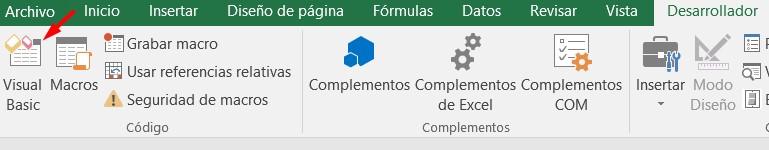 Formulario UserForm de Excel