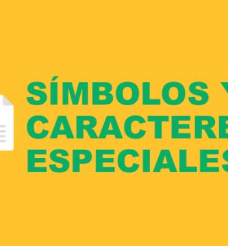 Cómo insertar símbolos y caracteres especiales en Excel