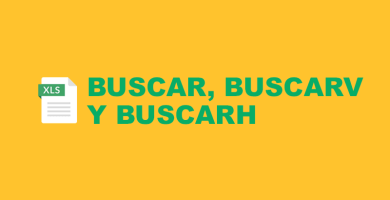 DIFERENCIAS Entre BUSCAR, BUSCARV y BUSCARH en Excel