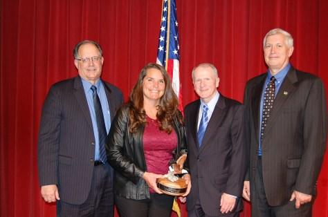 Doc Jones with Administrator Award