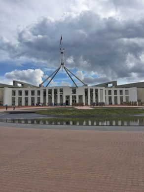 Australia's current Parliament building.