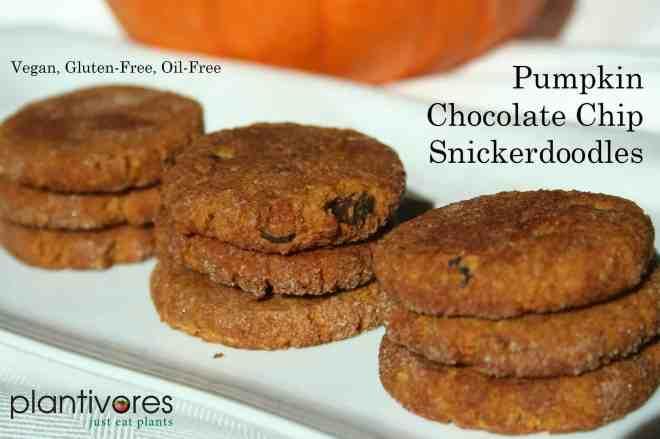 Pumpkin Chocolate Chip Snickerdoodles, Plantivores