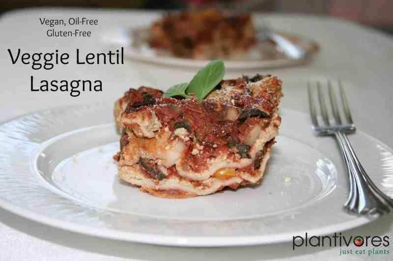 Veggie Lentil Lasagna