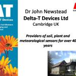 Irrigation efficiency with Delta-T Devices: the coming of time