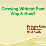 Growing without peat – why & how?