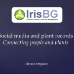 Social media and plant records: Connecting people and plants