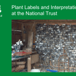 Plant Labels and Interpretation at the National Trust