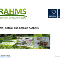 BRAHMS, Botany and Botanic Gardens