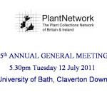Minutes of the 15th Annual General Meeting of PlantNetwork