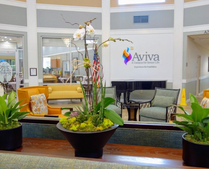 Aviva Entrance Planters