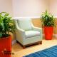 Plants in hotel