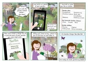 Try our garden design service
