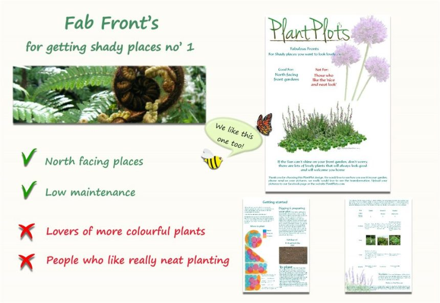 Plants for shade front garden planting design product