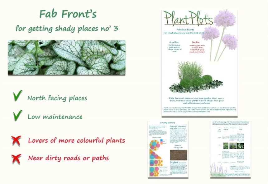 Garden Border Planting Design Plan planting for shaded areas blue flowers