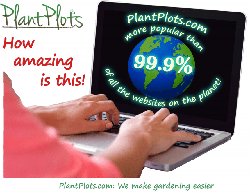 PlantPlots.com, one of the most popular websites on the internet