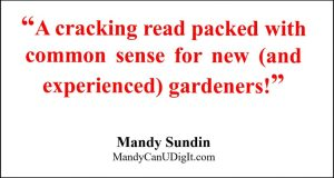 Book review quote - I want to like my garden by Rachel McCartain garden design book