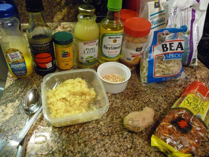 A few pantry ingredients come together for a Quick Asian Peanut Dressing