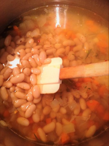 Healthy Beans: White beans add healthy vegan protein to make this a satisfying, filling soup. For more protein, add another can of beans.