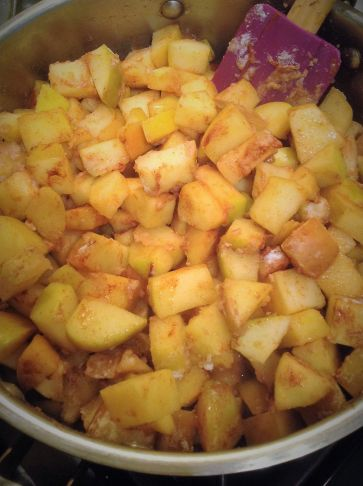 Brown rice flour helps thicken the apple cinnamon filling, while also keeping this recipe whole grain and gluten-free